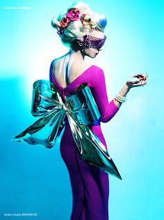 Sina Collins by Jens Moire 2014 #futuristic #fashion #editorial
