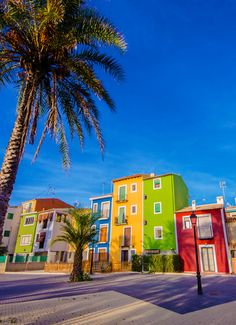 Villajoyosa - nice little and colored seaside resort on the Costa Blanca in #Spain.