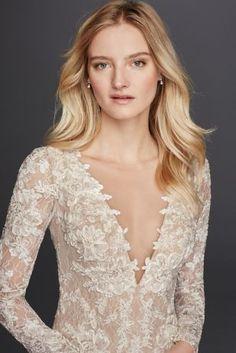 Galina Signature Lace Gown at David's Bridal