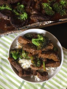 I love making homemade versions of our favorite foods. Sheet pan broccoli beef is an great example of that. With all our food allergies this allows us to have one of our restaurant favorites at home. I love how easy it is to make.