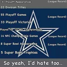 Just a few reasons not to like the Cowboys