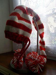 cappello a elfo fatto a mano