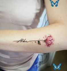 Tattoos for daughters -  Name tattoos for moms -  Tattoos for women -  Tattoos for women flowers - Tattoos for daughters, Name tattoos for moms, Tattoos for women, Tattoos for women flowers, Tattoos for women small, Finger tattoos - Flower with name tattoo for women flower frauen namen tattoo   Flo -  #Tattoosfor #daughters<br> Flower with name tattoo for women flower women names tattoo flowertattoos - Tattoos for daughters, Name tattoos for moms, Tattoos for women, Tattoos for women… Daughters Name Tattoo, Name Tattoos For Moms, Tattoos For Kids, Mom Tattoos, Finger Tattoos, Sleeve Tattoos, Tattoos For Women Flowers, Small Flower Tattoos, Flower Names