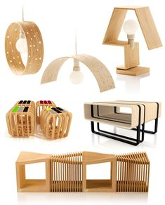 Say Hi! To Design: Plywood furniture from TABANDA