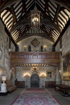tudor manor house interiors - Google Search