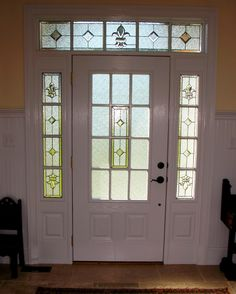 Ciaraldi Entry design.  #transom #home decor #artsy #beautiful #custom-made #creative #elegant #window #stained glass