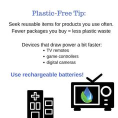#plasticfreejuly  #tipsforgoingplasticfree  #wastefreeproducts #tryusingrechargablebatteries  #plasticfreeforthesea . I have used an Energizer battery  charger and rechargeable batteries for 5 years. I feel like the charger is beginning to show some wear (ie: I have to spin the batteries to get them to connect to the charger) but it still feels better than tossing out dead batteries. . The city I live in has a battery  program. The instructions are to place the dead batteries in a plastic…