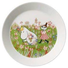 By Arabia - Mumi Tallerken Moomin Shop, Moomin Mugs, Helsinki, Tove Jansson, Plates And Bowls, Hygge, Dinnerware, Scandinavian, Decorative Plates