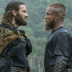 """2 Brothers: Rollo & Ragnar in """"Vikings"""" Lagertha, Ragnar Lothbrok Vikings, Rollo Vikings, Vikings Show, Vikings Travis Fimmel, Vikings Tv Series, Rollo Lothbrok, Ragnar Lothbrook, Viking Life"""