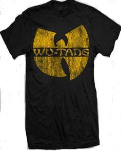 Wu Tang Clan - Distressed Logo T-Shirt $10.80 #topseller