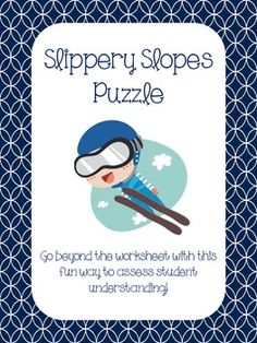 This activity is an engaging way to have students practice writing equations in slope intercept form, given two points. They match up problem numbers with answers to be able to put together a puzzle. Answer key included!