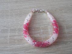 mesh tube bracelet. Modistická dutinka.