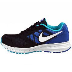 Nike Downshifter 6 Kids 684979-400 Blue Running Shoes Sneakers Youth Size 6 1be6ea17bd9