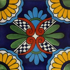 Infuse the spirit of the Southwest into your home with these beautifully handcrafted Talavera tiles! An eye-catching accent in kitchens and baths, decorative ceramic tiles are also perfect for covering the risers on a staircase or the walls of a patio. Left-over tiles make excellent coasters and trivets. Hand made in Mexico.