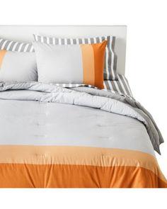 Yunus Textile Mills  Room Essentials® Color Block Comforter Set from Target | BHG.com Shop