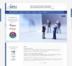 Internetauftritt von LOBAconnect: Customer Relationship Management und ERP: www.lobaconnect.com