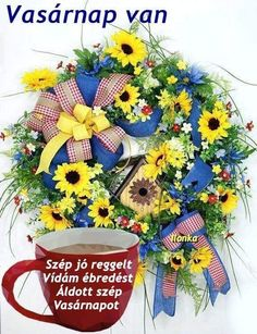 Your place to buy and sell all things handmade Summer Door Wreaths, Easter Wreaths, Holiday Wreaths, Mesh Wreaths, Autumn Wreaths, Spring Wreaths, Wreath Crafts, Wreath Ideas, Sunflower Wreaths