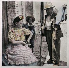 Frida en la Casa Azul von Leo Matiz