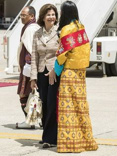 Arriving June 8, 2016, King Carl Gustaf  and Queen Silvia of Sweden are paying a 3-day state visit to Buthan as the guests of King Jigme Khesar Namgyel Wangchuck of Buthan (1st day).