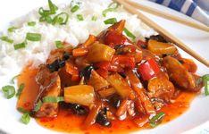 Sladko pálivé kuře s ananasem – RECETIMA Kung Pao Chicken, Thai Red Curry, Food And Drink, Treats, Cooking, Ethnic Recipes, Health, Food Ideas, Pineapple
