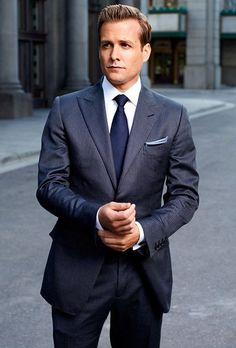 Heren sterren kleding - Moderne variant van de retro look van Harvey Specter uit Suits