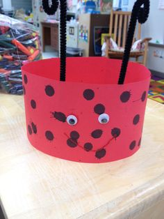 Ll is for ladybug hat!