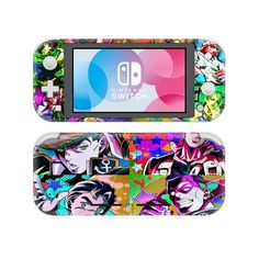Jojo's bizarre adventure Nintendo switch lite Skin for Nintendo switch lite console. Choose your favorite design from a huge range of switch lite Skins collection for Nintendo switch lite console. Buy Nintendo Switch, Cute Gif, Jojo Bizarre, Jojo's Bizarre Adventure, Webtoon, Games To Play, Console, Video Games, Crafts