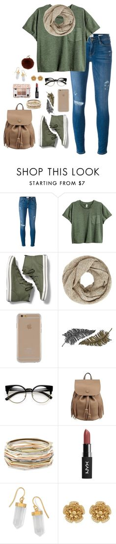 """""""I wanna see you out that door"""" by lovelywonderstruck13 ❤ liked on Polyvore featuring Frame Denim, Keds, John Lewis, Agent 18, Paperself, Kendra Scott, BillyTheTree, Miriam Haskell and Yves Salomon"""