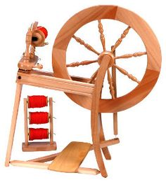 The Mountain Spinnery - supplying quality fibre craft materials and equipment. #traditional #spinning wheel #Ashford