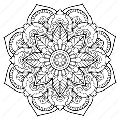 Free Flower Mandala Coloring Pages. 30 Free Flower Mandala Coloring Pages. Grab This Free Flower themed Mandala Adult Coloring Page Cat Coloring Page, Free Adult Coloring Pages, Pattern Coloring Pages, Colouring Pics, Flower Coloring Pages, Mandala Coloring Pages, Animal Coloring Pages, Coloring Book Pages, Printable Coloring Pages