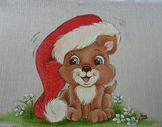 Olá pessoal! Encontrei um lindo cãozinho para vocês pintarem :D vejam que fofo!