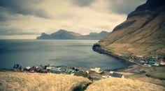Faraoe Island, part of the Kingdom of Denmark-located in the Norwegian Sea