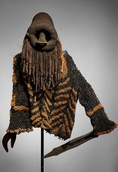 Arte Tribal, Africa Art, African Masks, Textiles, Mens Fashion, Costumes, Congo, Collection, Men's Style