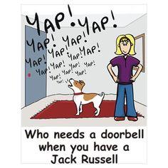 So true. It's been too long since my last doorbell!