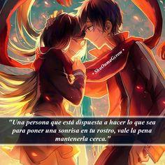 Una persona.. #ShuOumaGcrow #Anime #Frases_anime #frases