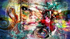 "yossi kotler; Acrylic 2013 Painting ""soul track"""
