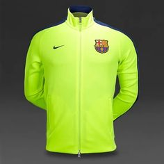 a4c200bdf51 Home Nike Fc Barcelona Authentic Track Jacket Volt Loyal Blue Pictures