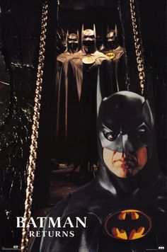 "Publicity shot of Michael Keaton for ""Batman Returns"" - 1992."