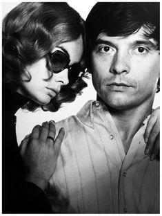 Held fotograaf David Bailey (and Jean Shrimpton) toen...in the 60ties, op wiens leven Anonioni's film Blow Up gebaseerd was