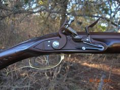 Dickert Style .50 Caliber Flintlock Rifle