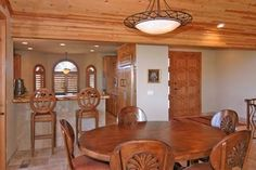 Bar and Dining Table - 203 Bristlecone Pines Rd, West Sedona, Listed with Rob Schabatka from RE/MAX Sedona.