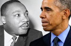 To watch Republican rallies is to see white crowds fuming with hatred of their black president. MLK knew that well