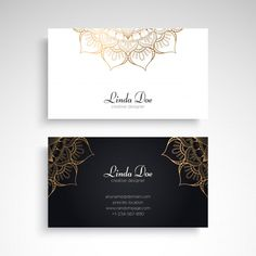 More than 3 millions free vectors, PSD, photos and free icons. Beauty Business Cards, Luxury Business Cards, Black Business Card, Elegant Business Cards, Free Business Cards, Business Card Design, Design Your Own Card, Name Card Design, Bussiness Card