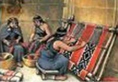 Telar mapuche                         vertical 02 Textiles, Diy Flooring, South America, Chile, Folklore, Fabrics, Handbags, Chilis, Chili