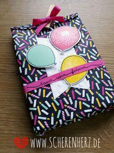 Party Goodie - Neue Produkte im Frühjahrs-/Sommerkatalog und Sale-A-Bration 2016 Luftballons und Party Farben: Wassermelone, Minzmakrone, CurryGelb, Schwarz Stampin'Up