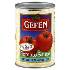 * Final call for this special discount : Gefen Tomato Sauce, No Salt, 15-ounces (Pack of 24) at Quick dinner ideas.