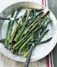Easy Broiled Asparagus 2 Ways