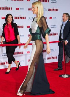 Gwyneth Paltrow arrives at the premiere of Walt Disney Pictures Iron Man 3 at the El Capitan Theatre on April 24, 2013 in Hollywood, California. : nydailynews