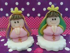 10 Souvenirs Virgencitas  Porfis  En Porcelana Fría - $ 300,00