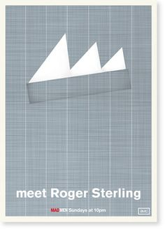 mad men minimalist posters